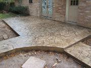 Stamped Concrete - Orchard Stone