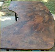 Decorative Concrete Countertop
